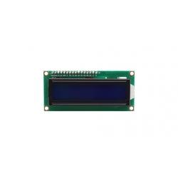 LCD 1602 con retroilluminazione blu