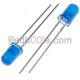 10 x LED blu 5mm luce diffusa