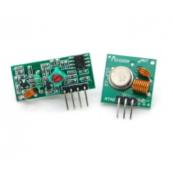 Kit trasmettitore e ricevitore 433Mhz